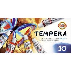 KOH-I-NOOR Tempera Temperafarben 10 x 16,0 ml