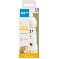 MAM Babyflasche Easy Active Baby Bottle - Häschen, grau