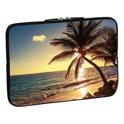 PEDEA Design Schutzhülle 13,3 Zoll (33,8 cm) Laptop Notebook Tasche Hülle, beach