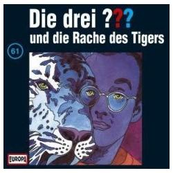Die drei ??? 061 und die Rache des Tigers (drei Fragezeichen) CD