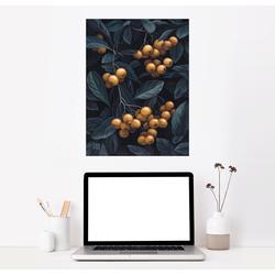 Posterlounge Wandbild, Feuerdornbeeren 60 cm x 80 cm