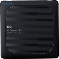Western Digital My Passport Wireless Pro 3TB USB 3.0 schwarz (WDBSMT0030BBK-EESN)