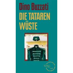 Die Tatarenwüste als Buch von Dino Buzzati