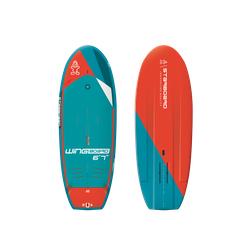 Starboard Wingboard Blue Carbon SUP Board 21 Wing Board Foil, Länge: 7'0''