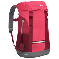 Vaude Pecki 14 Plecak dziecięcy 48 cm bright pink