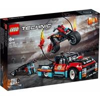Lego Technic Stunt-Show mit Truck und Motorrad 42106
