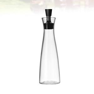 Cabilock Glas Olivenöl Spender Flasche 500Ml Klares Olivenöl Behälteröl Essig Olivenöl Karaffe Dekanter mit Verschlusskappen für Die Küche
