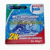 Reinex fresh WC-Duftsteine, Nachfüllpack 2 x 40 g, Meeresfrische