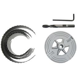 Connex Lochsäge 60 - 95mm, Set, 6-tlg., für Rohrdurchführungen, Ventilationsinstallationen und Hohllochbohrungen