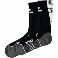 Erima Trainingssocken schwarz/Weiß, 4