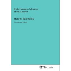 Herons Belopolika als Buch von