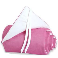 Babybay 1603 Nestchen für das Beistellbett Maxi pink/weiss