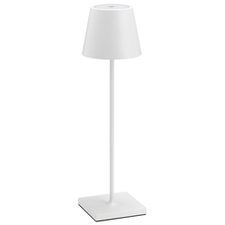 LCD Akku Tischleuchte LED Weiß 5098