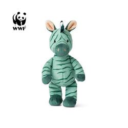WWF Plüschfigur Cub Club - Ziko das Zebra (grün, 22cm)