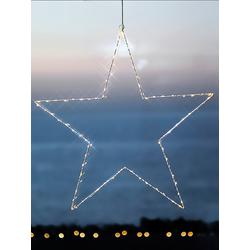 Weihnachtsanhänger Liva Star Sirius weiß