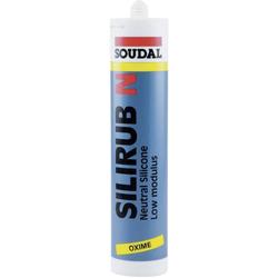 Soudal Silirub N Silikon Herstellerfarbe Braun 9302 310ml