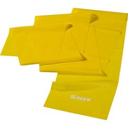 ALEX leicht Gymnastikband in gelb, Größe LEICHT gelb LEICHT
