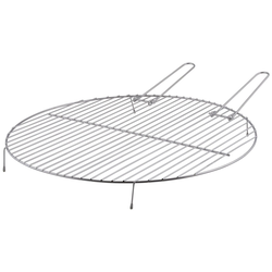 esschert design Feuerschale Esschert Design Grillrost für Feuerschale Ø 50 cm Metall rund Grill Gitter BBQ, (Grillrost)
