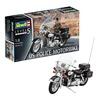 REVELL Modellbausatz Revell Modellbausatz - US Police Motorbike