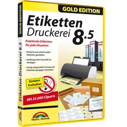 Etiketten Druckerei 8.5