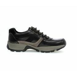 Pius Gabor Sneaker aus Glattleder schwarz, Gr. 10,5, Glattleder - Herren Schuh