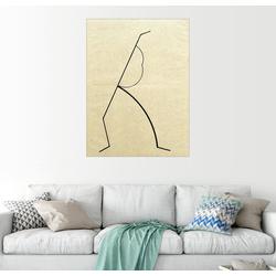 Posterlounge Wandbild, Analytische Zeichnung 60 cm x 80 cm