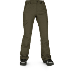 Volcom - Bridger Ins Pant Black Military - Skihosen - Größe: XS