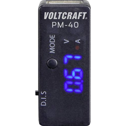 VOLTCRAFT PM-40 Hand-Multimeter digital CAT I Anzeige (Counts): 999