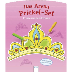 Arena Prickel-Set Prinzessinnen-Kronen