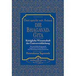 Die Bhagavad Gita als Buch von Paramahansa Yogananda