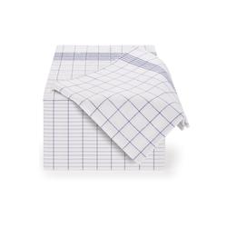 Blumtal Geschirrtuch Hochwertige Geschirrhandtücher im praktischen Set in der Größe 50x70 cm, (Set, 20-tlg., Set bestehend aus 5, 10 oder 20), 100% Baumwolle blau