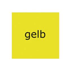 Tonzeichenpapier A4 120g/qm VE=25 Blatt gelb