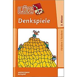 LÜK: Denkspiele ab Klasse 3 - Buch