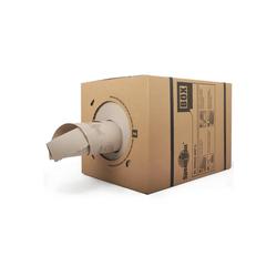 KK Verpackungen Endlospapier, Packpapier Schrenzpapier Füllmaterial in Spenderbox SpeedMan 450lfm