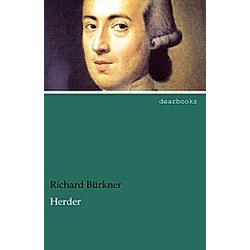 Herder. Richard Bürkner  - Buch