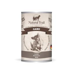 Natural Trail WILD Monoprotein Super Premium Nassfutter für Hunde Hundefutter (16 x 0,8 kg)