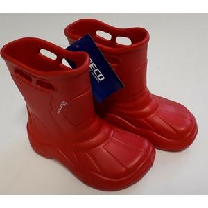 Beco BeBoots Gummistiefel Schuhe wasserdicht super leicht rot 34