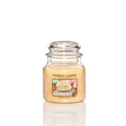 YANKEE CANDLE Mittlere Kerze VANILLA CUPCAKE 411 g Duftkerze