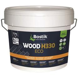 Bostik Wood H330 Eco Basic Elastischer Parkett Kleber Klebstoff 17kg Eimer