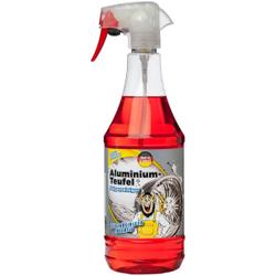 TUGA CHEMIE Aluminium-Teufel® Felgenreiniger Intensiv, Der extrem kraftvolle Felgenreiniger mit Langzeitwirkung, 1000 ml - Flasche