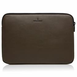 Castelijn & Beerens Nappa X Mike Laptophülle RFID Leder 38 cm Laptopfach darkmilitary