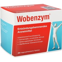 Wobenzym Magensaftresistente Tabletten 200 St.