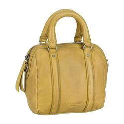 Liebeskind Berlin Handtasche Oak Bowling Bag XS, Bowling Bag gelb