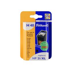 Pelikan Tinte schwarz H40 (101631) Tintenpatrone