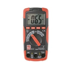 RS PRO RS14 Digital-Multimeter, 600V ac / 10A ac, 20MΩ, Kat.III