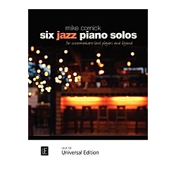 Six Jazz Piano Solos - Buch