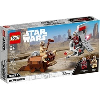 Lego Star Wars T-16 Skyhoppe vs Banth Microfighters 75265