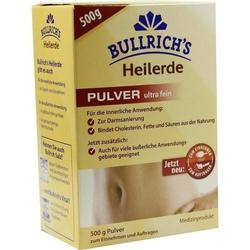 BULLRICHS Heilerde Plv.z.Einnehmen u.Auftragen 500 g