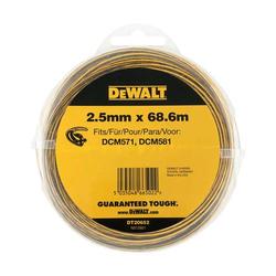 DeWALT Trimmer-Faden DT20652-QZ 68,6 m / Ø 2,5 mm für DCM561 Rasentrimmer Ersatz
