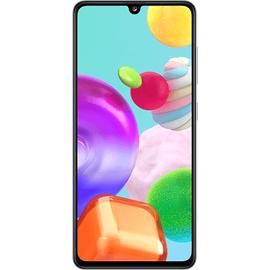 Samsung Galaxy A41 prism crush white